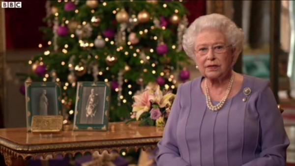 Queen speaking of forgiveness