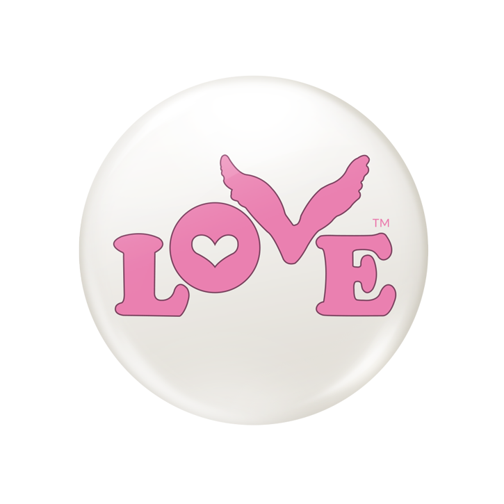 Love Button Global Movement - Pink Button