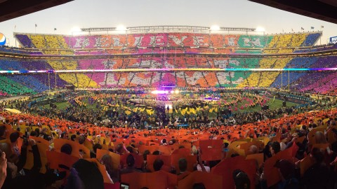 Believe in Love - Super Bowl 50 Half Time Performance Love Movement