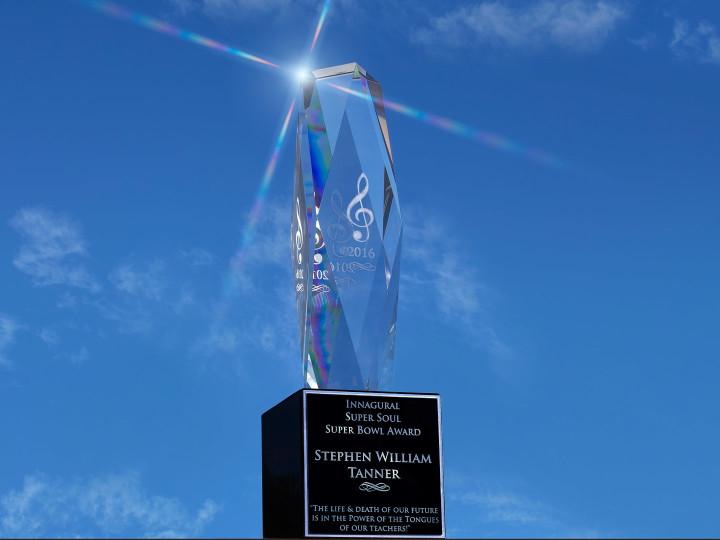 Stephen William Tanner Wins Super Soul Award