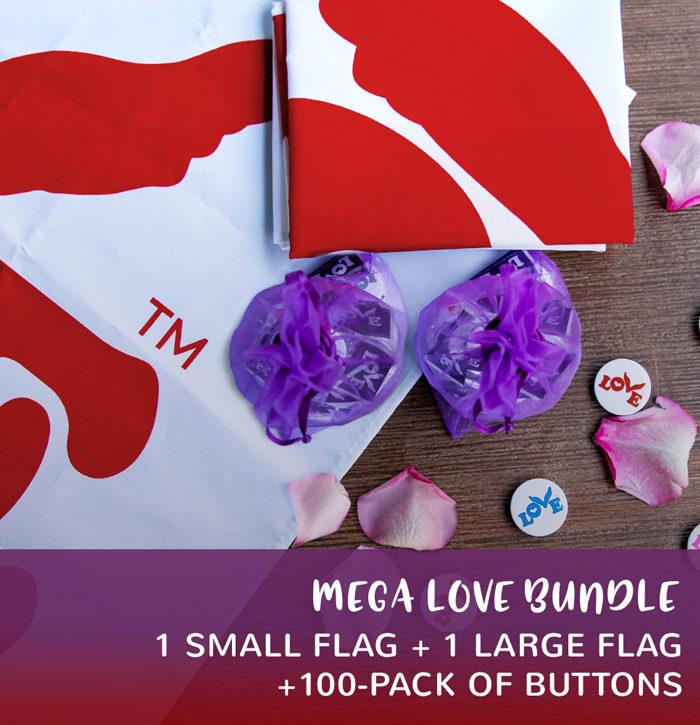 Love Flag and Button Bundles Mega Bundle