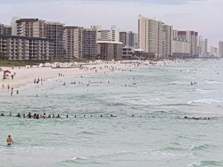 Drowning Family Saved by 100 Beach-Goers