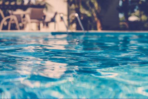 swimming pool for neighborhood kids