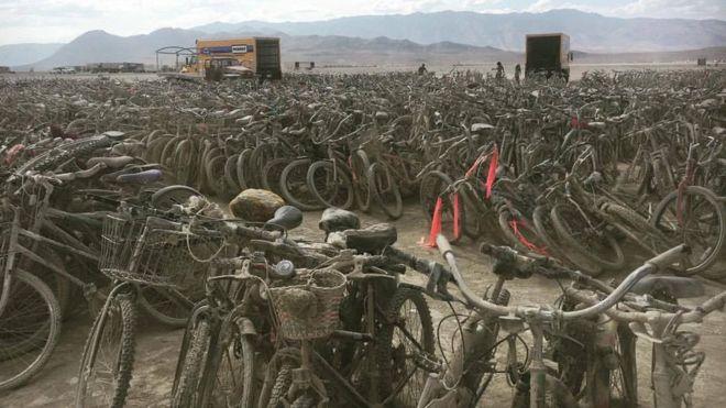 bikes donated to hurricane victims