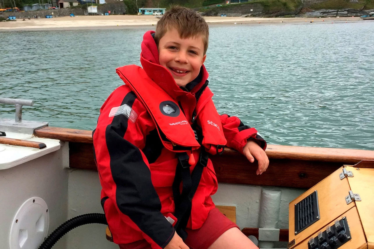Steffan Williams - 8-Year-Old Rescues 5 People in 48 Hours
