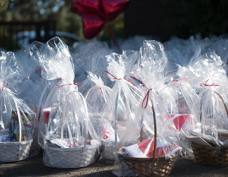 Love Button Baskets of Love Event 2017