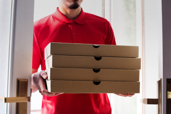 Pizza Worker delivers 225 miles away