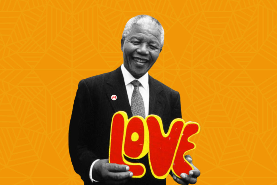 Love Button Collaboration Celebrates Mandela