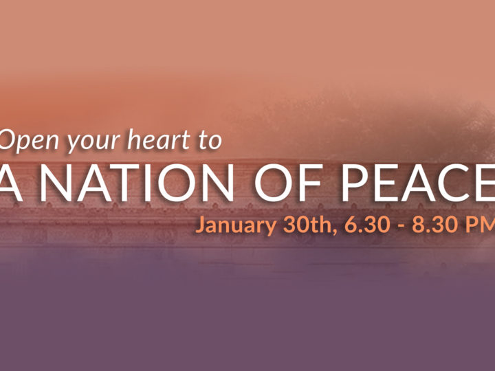 Global Pause – Open Your Heart to Love @ The Meditation Museum Jan 30th