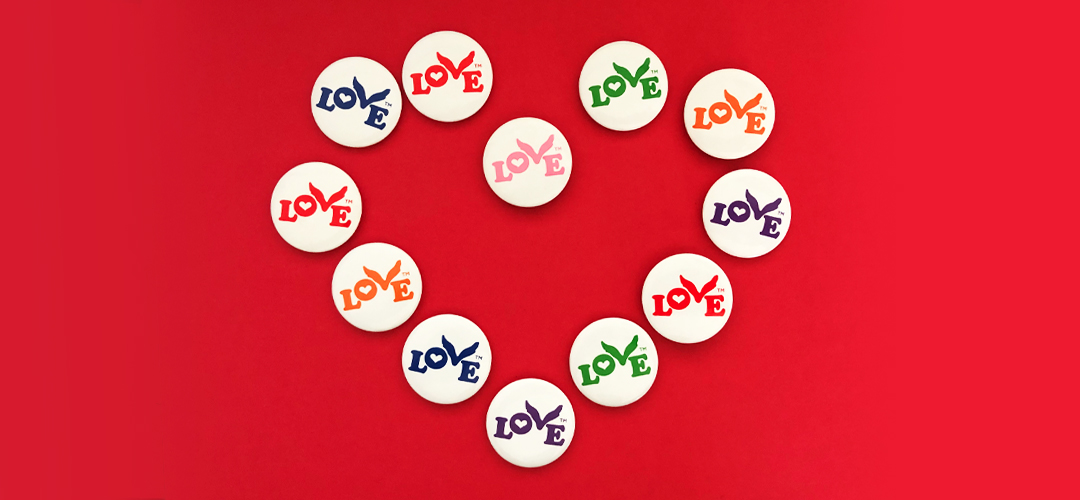 Month of Love Free Love Buttons