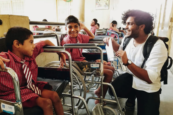 Man Collects & Gives Wheelchairs & Crutches to the Needy