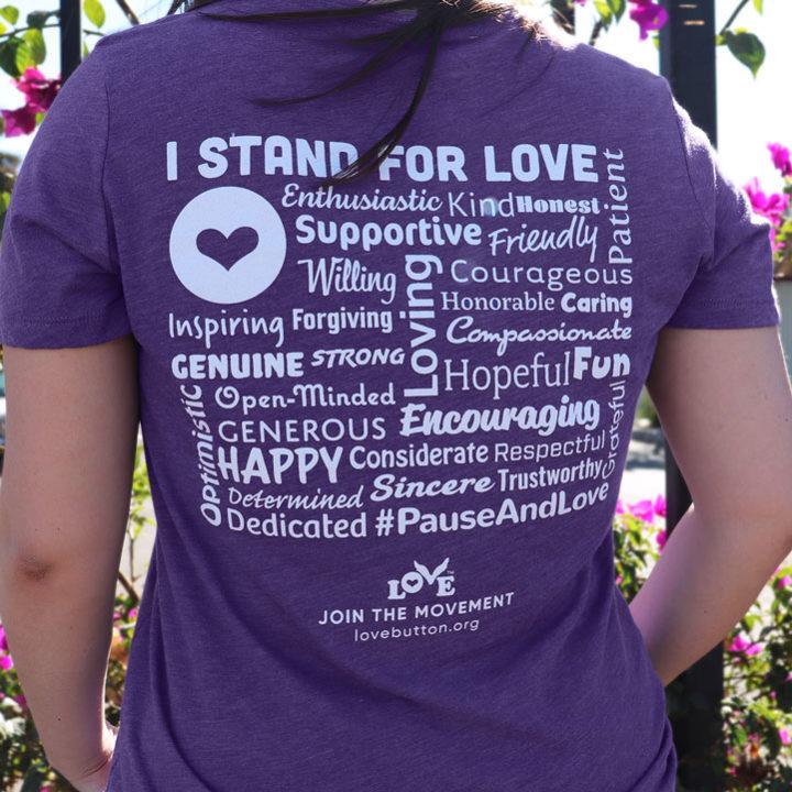 Stand for Love T-Shirt V-Neck