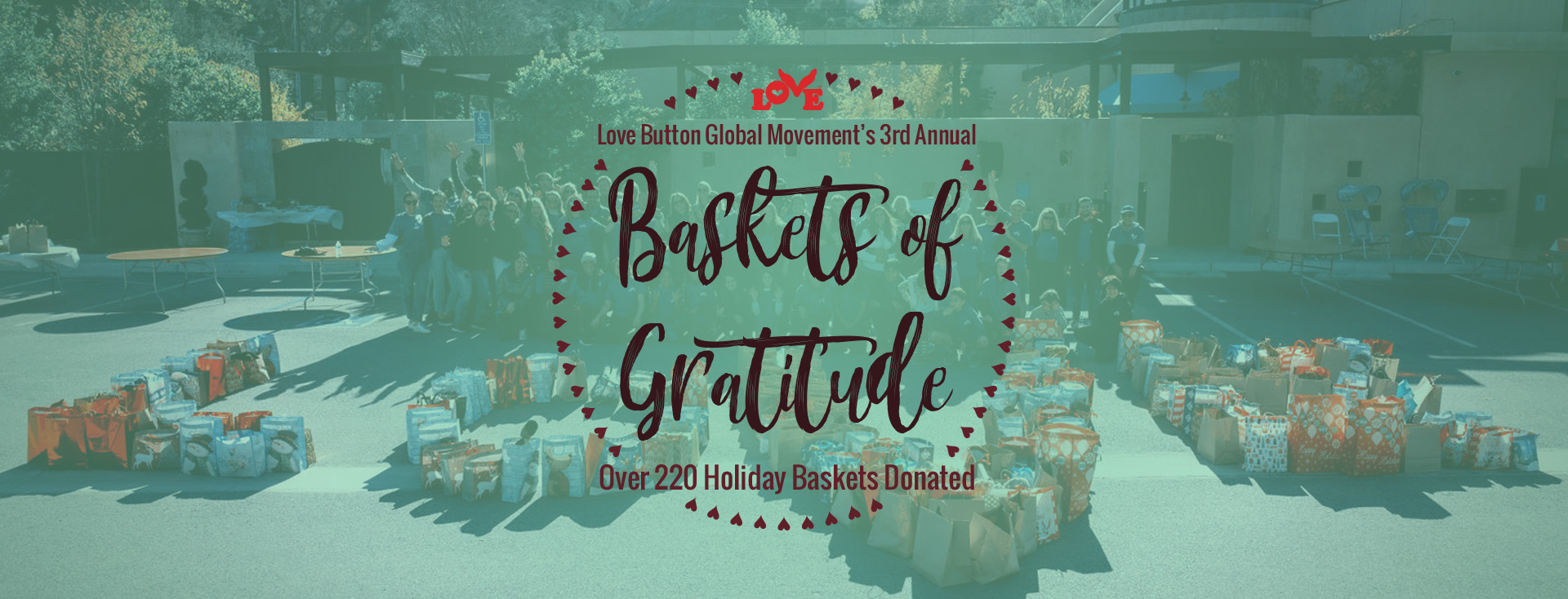 3rd Annual Baskets of Gratitude Recap