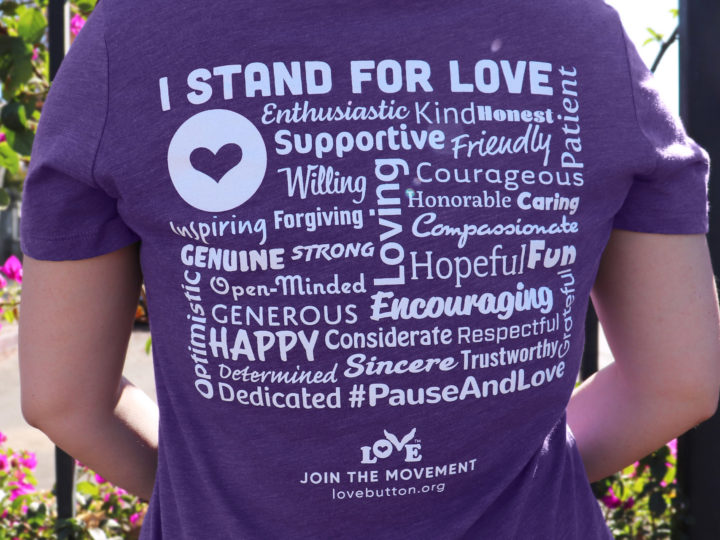 """New """"I Stand for Love"""" T-Shirt"""