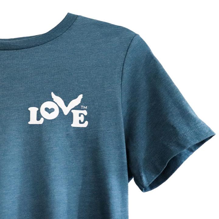 Love Button Unisex Crew Neck T-Shirt