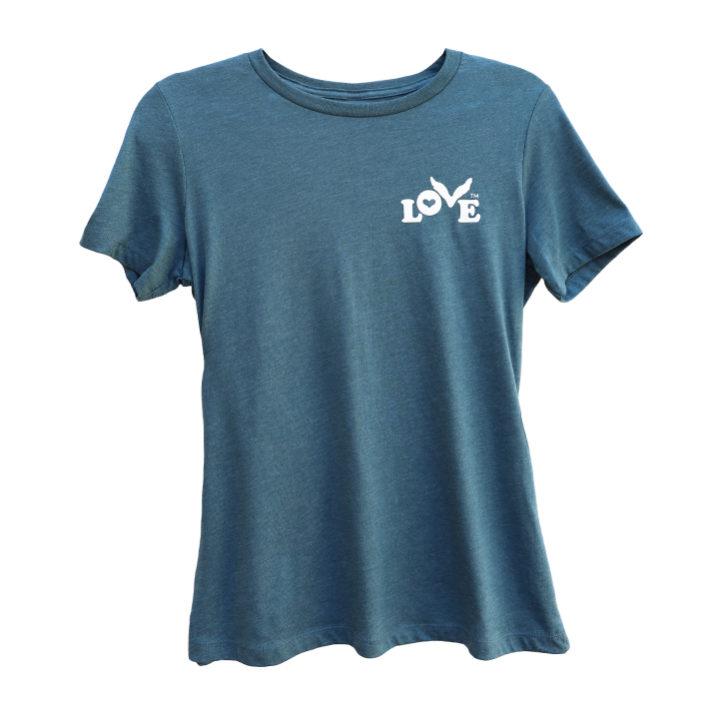 Love Button Women's Crew Neck T-Shirt
