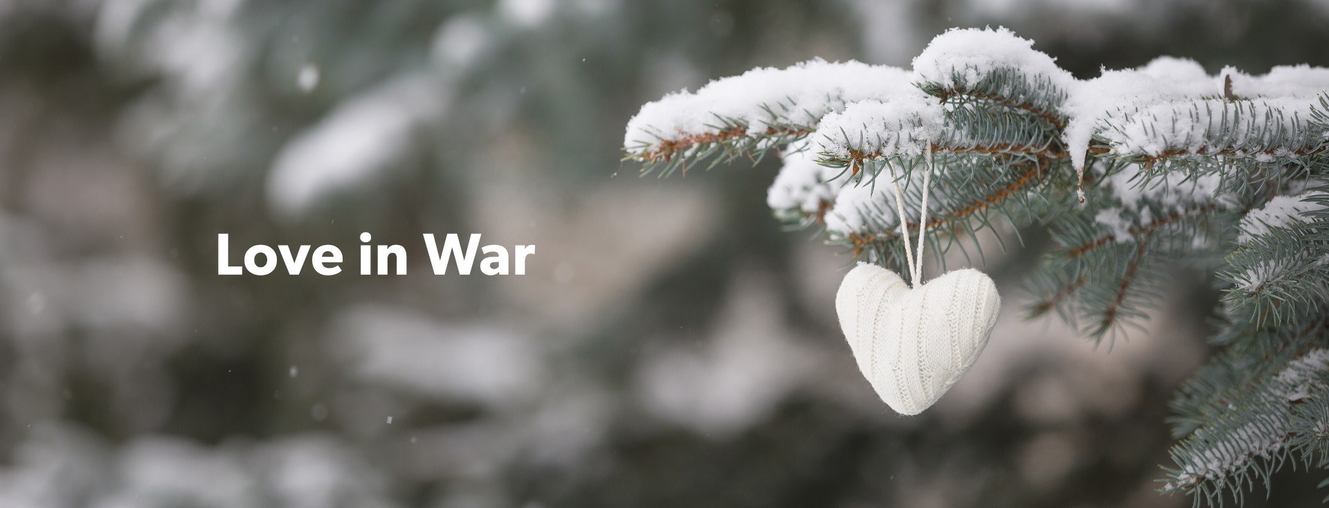 Love in War The Christmas Truce of WWI