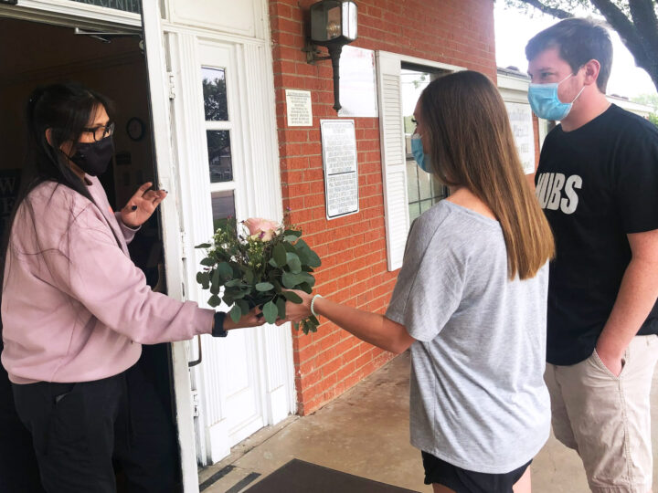 Newlywed Couple Delivers Flowers and Joy to Others