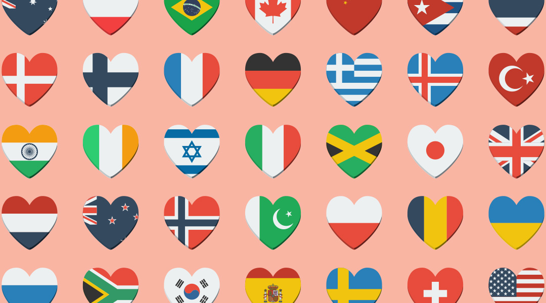 Personal Displays of Affection: Unique ways different cultures express love