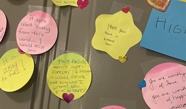 Couple Creates 'Door Of Kindness' for Their Community